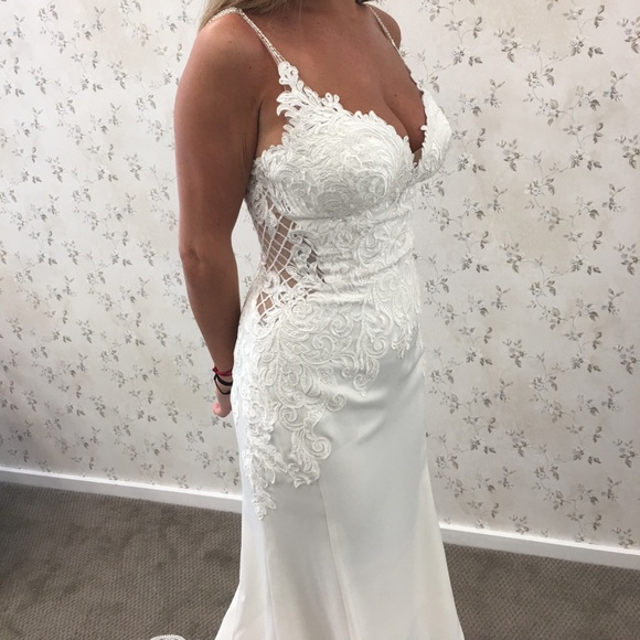 b7b68815f79 Stella York wedding gown 6586